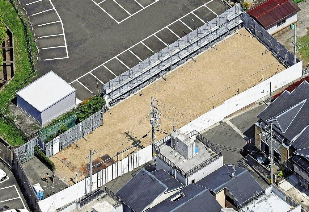 京阿尼第一工作室遗址俯瞰图
